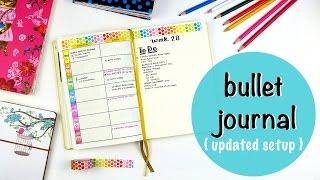 Current Bullet Journal Setup (updated)