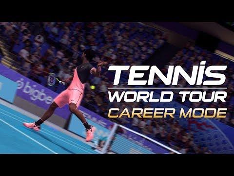 Présentation mode carrière de Tennis World Tour