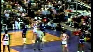 Michael Jordan 27 pts - USA Olympic Team vs. NBA All Stars - 1984