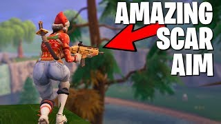 The Best Controller Aim You've Ever Seen (30 Kill Solo VS Squads)