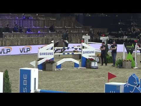 Zinius - CSI5*-W Mechelen 2018 - R1