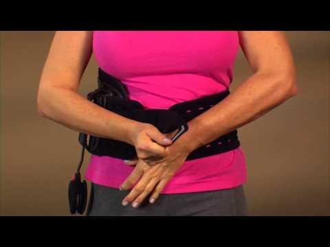Übung liegend auf Osteochondrose Video