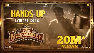 Avane Srimannarayana (Kannada) - Hands UP (Lyric Video) | Rakshit Shetty | Pushkar Films