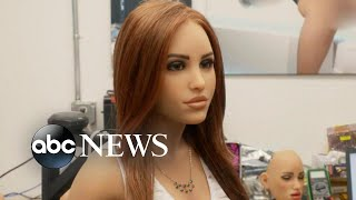 """(Video) """"You Can Buy a Sex Robot Equipped with AI for $20,000"""" 