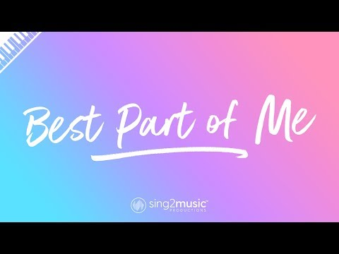 Best Part of Me (Piano Karaoke Instrumental) Ed Sheeran & YEBBA