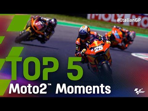Moto2 2021 第6戦イタリア ハイライト動画