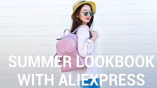 SUMMER LOOKBOOK with Aliexpress! Live Show!