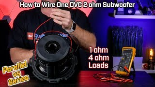 How to wire your subwoofer dvc 4 ohm 2 ohm parallel vs 8 ohm how to wire your subwoofer dual voice coil 2 ohm 1 ohm parallel vs 4 freerunsca Image collections
