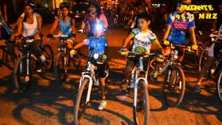 preview picture of video 'Imágenes en vídeo de la TRAVESIA NOCTURNA EN BICICLETA TINOGASTA 2014'