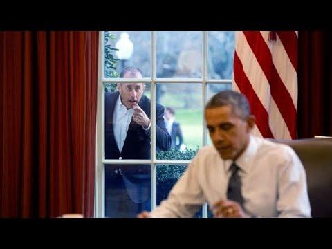 Obama talks to Seinfeld