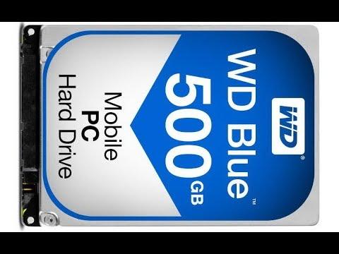 Жесткий диск HDD WD Western Digital долго определяется в системе, зависает, не появляется буква