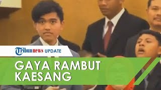 Gaya Rambut Poni Lempar Kaesang di Acara Pelantikan Presiden Jadi Sorotan Netizen