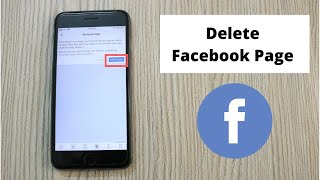 How to Delete Facebook Page on iPhone (2020)