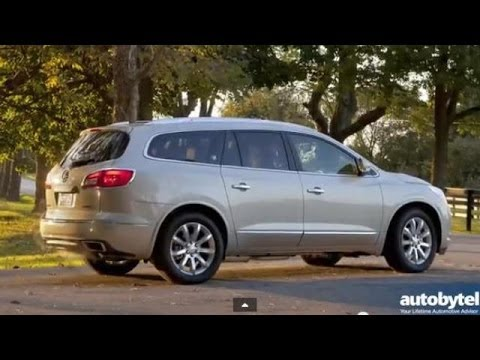 2014 Buick Enclave Test Drive Video Review