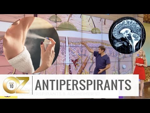 Could Antiperspirants or Deodorants Cause Alzheimer's?