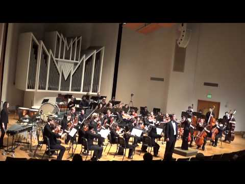 This opportunity was granted to me after winning the WWU Concerto Competition in 2013. Conductor: Natalia Lazuriaga.