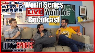 WORLD SERIES GAME 1 - LIVE COMMENTARY