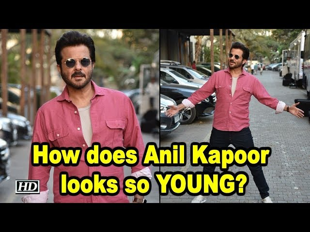 How does Anil Kapoor Looks so YOUNG?