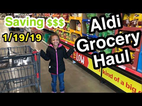 Aldi Grocery Shopping 1/19/19 - SHUTDOWN SAVING $$$