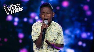 Carlos Mario Canta Mi Buen Amor - Audiciones A Ciegas | La Voz Kids Colombia 2018
