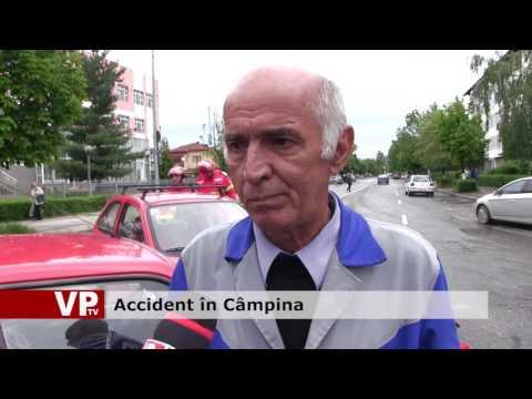 Accident în Câmpina