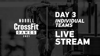 Hnub Saturday: Hnub 3, Tus Kheej thiab Pawg Ua Haujlwm -2021 NOBULL CrossFit Games