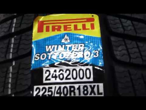 PIRELLI WINTER SOTTOZERO 3 RSC SNOW TIRE REVIEW (RUN FLAT)