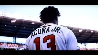 "Ronald Acuna Jr. Highlights - ""Sunflower"" HD"