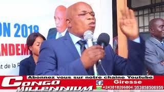 GABRIEL MOKIA AZONGELI MASOLO AVEC FORCE, PLEIN A CRAQUER ALOBI AZWA BOKONZI A DEDOUANER CONGO .