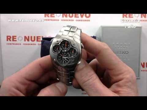Reloj SEIKO Sportura Kinetic de segunda mano E220379