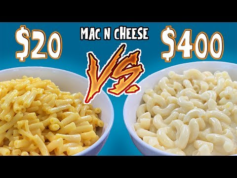 MAC N CHEESE BARATO vs CARO | EL GUZII