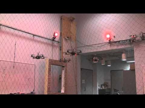 It's A Killer Swarm Of Quadrotor Drones