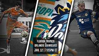 Florida Tropics vs Orlando SeaWolves