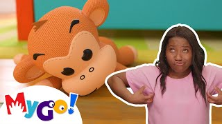 5 Little Monkeys | Sign Language For Kids | Baby Songs | Little Baby Bum | ASL