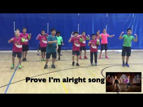 Mrs. Turner's Concordia 4th Graders dance to Kidz Bop's Fight Song