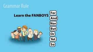 FANBOYS: Coordinating Conjunctions