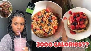 How To Easily Eat 3000 Calories In A Day Without Stuffing Your Face - What I Eat In A Day 😋