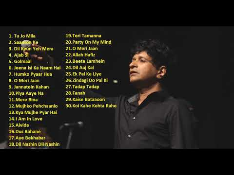 Best of KK | Best Bollywood Songs of KK | KK Hit Songs | KK Jukebox