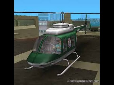 HOW TO GET A POLICE HELICOPTER IN GTA VICE CITY | LEGIT