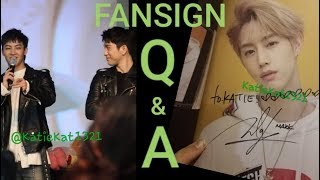 A (hopefully) Helpful Guide To Fansigns