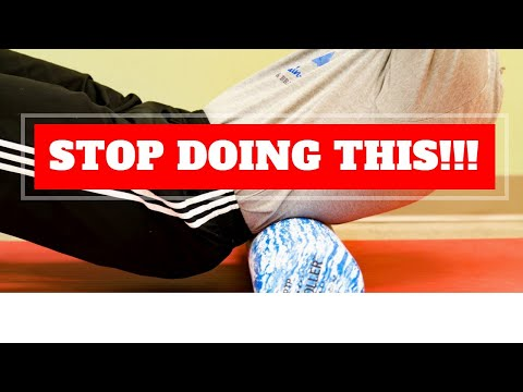 5 Foam Roller Exercises We Would NEVER DO!