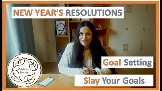 New Year's Resolutions || Tips To Goal Setting || Organize, Measure & Achieve Your Goals