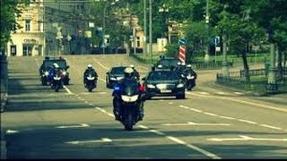 Кортеж Нурсултана Назарбаев. Инаугурация президента. 29.04.2015 г.