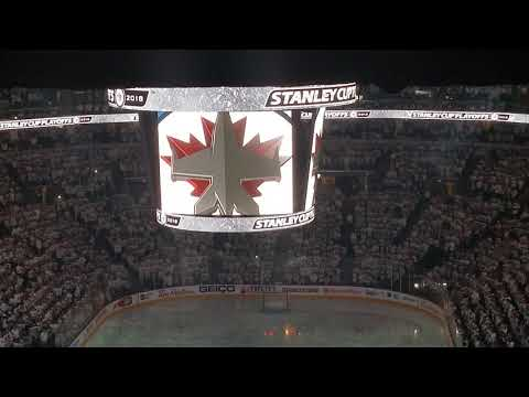 Winnipeg Jets Stanley Cup Playoffs Game 1 Intro - April 11th 2018