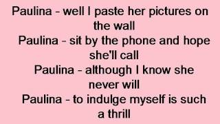 No Doubt - Paulina Lyrics