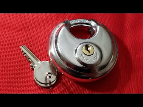 Harbor Freight Disc Circular PadLock Review & Comparison