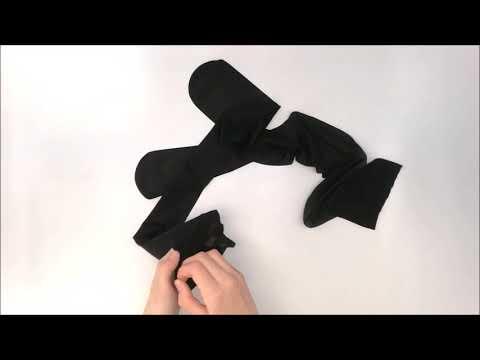 Punčochy S800 black - Obsessive