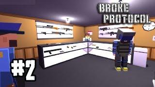 BrokeProtocol[Thai] # 2 รอปล้นร้านปืน