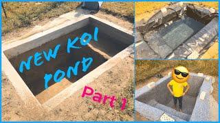 Koi Pond Build Part 1