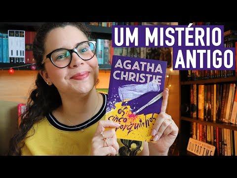 OS CINCO PORQUINHOS (Agatha Christie no melhor estilo cold case) | BOOK ADDICT